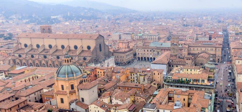 Centro de Bolonia foto de archivo libre de regalías