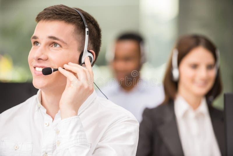 Centro de chamadas fotos de stock royalty free