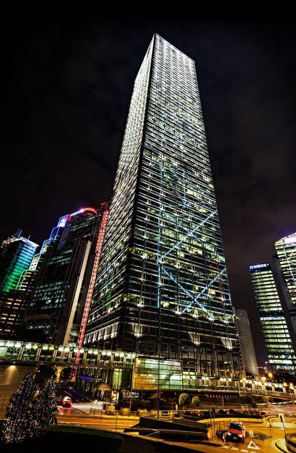 Centro de Cheung Kong fotos de archivo