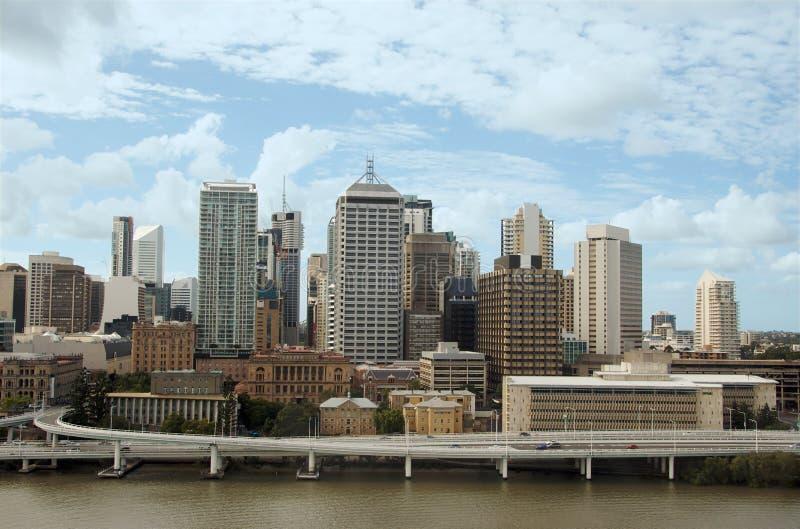 Centro de cidade de Brisbane   fotos de stock