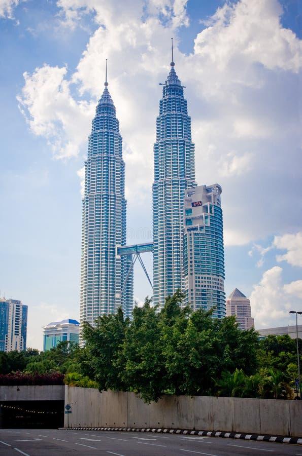 Centro de cidade de Kuala Lumpur fotos de stock