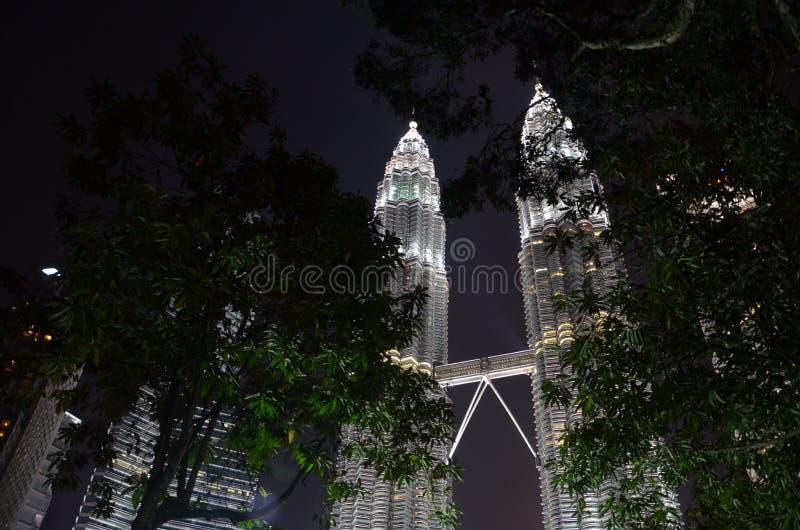 Centro de cidade de Kuala Lumpur imagens de stock royalty free
