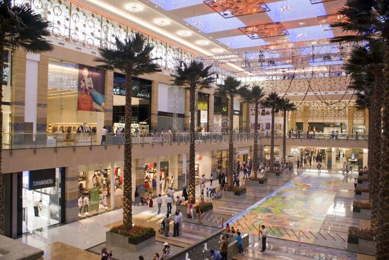 Centro de cidade de Mirdif foto de stock