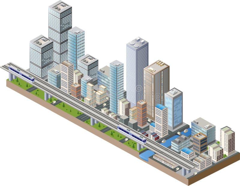 Centro de ciudad libre illustration