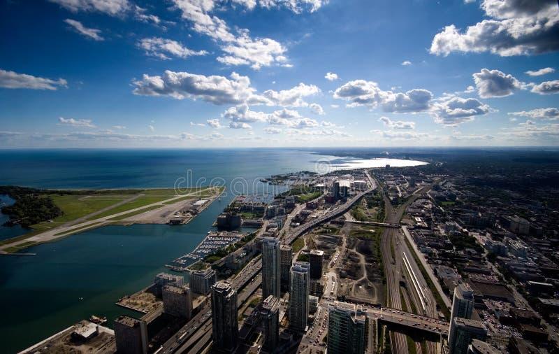 Centro de ciudad de Toronto foto de archivo libre de regalías