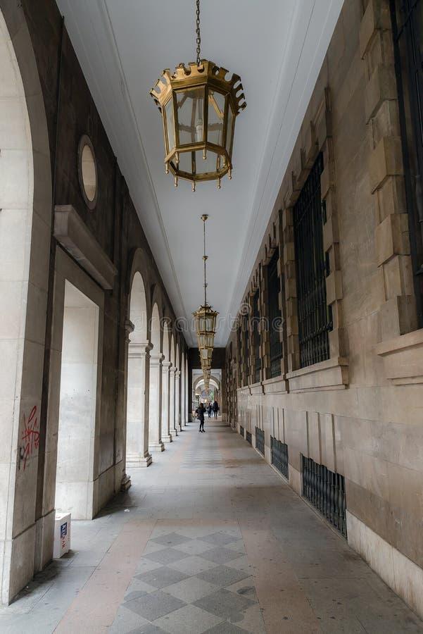 Centro de ciudad histórico imagen de archivo libre de regalías