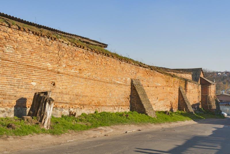 Centro de ciudad histórico de Vinnitsia, Ucrania fotos de archivo libres de regalías
