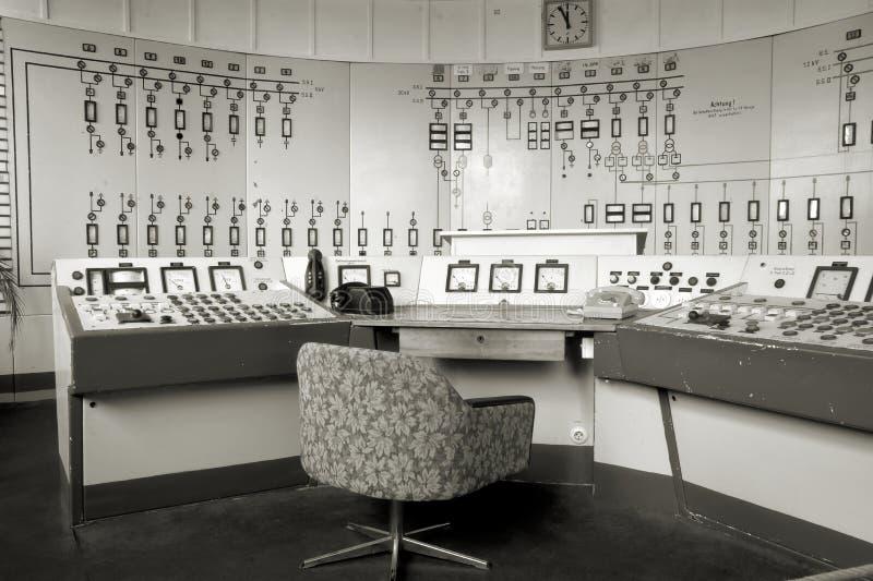 Centro de control en Ferropolis fotos de archivo