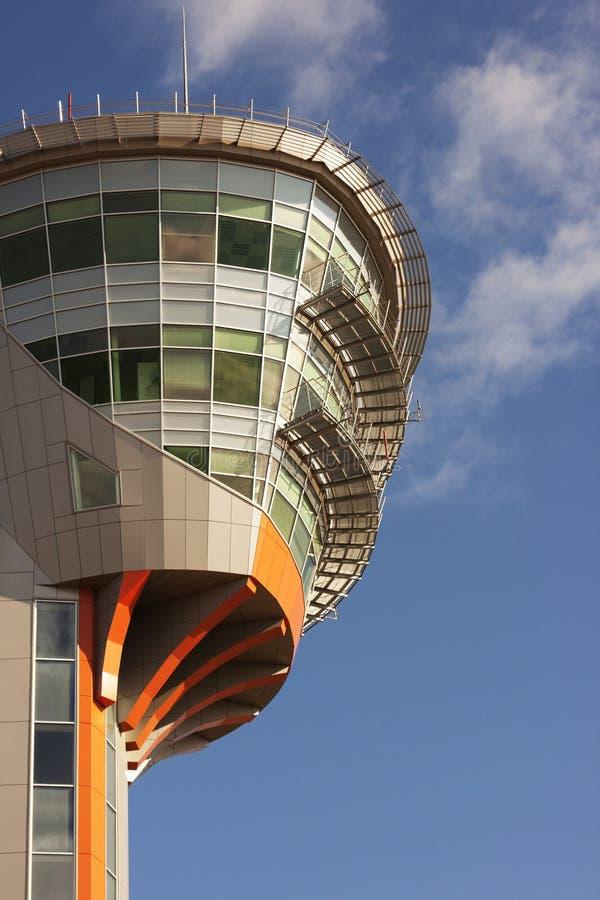 Centro de controle da torre fotografia de stock royalty free