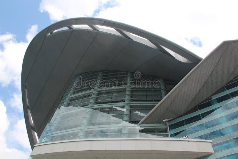 Centro de convenção de Hong Kong fotos de stock