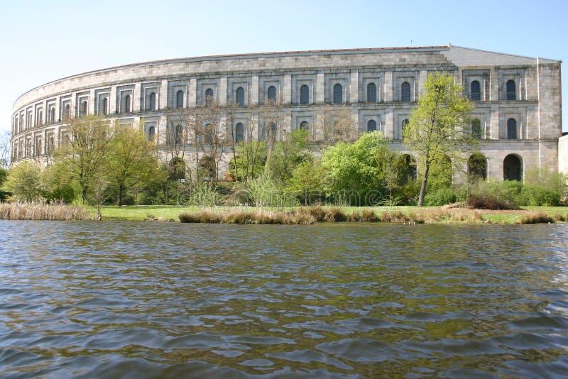 Centro de convenção de Nuremberg foto de stock royalty free