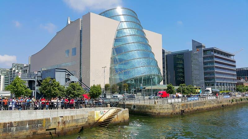 Centro de convenção Dublin imagens de stock