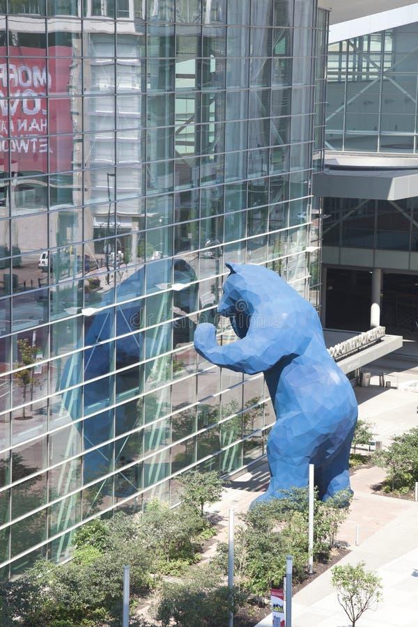Centro de convenções de Colorado fotos de stock royalty free