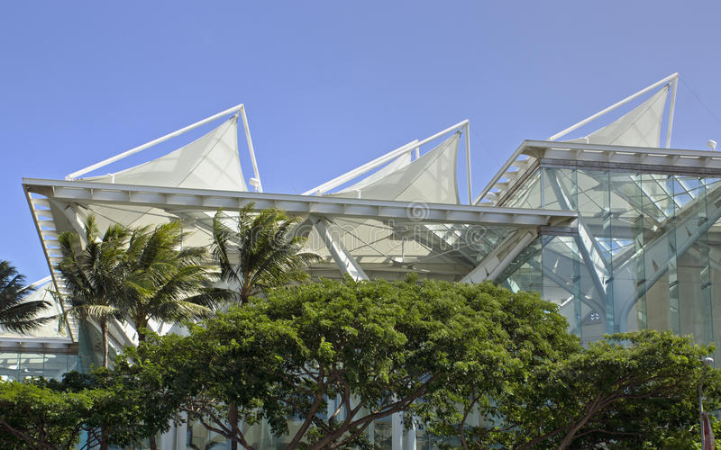 Centro de convenções de Havaí fotos de stock