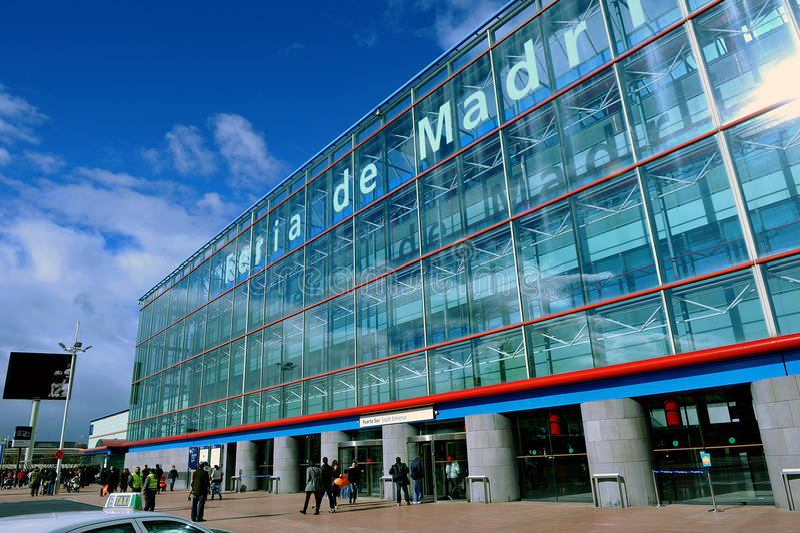Centro de convenções no Madri, Espanha foto de stock royalty free