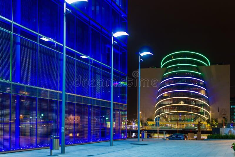 Centro de convenio dublín irlanda imagen de archivo