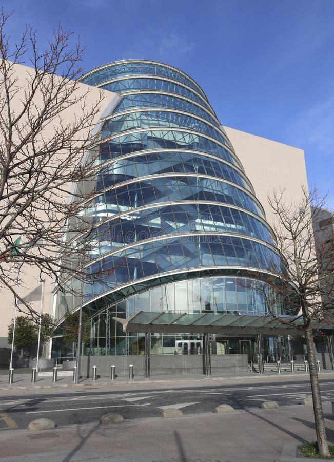 Centro de convenio Dublín, Irlanda imagenes de archivo