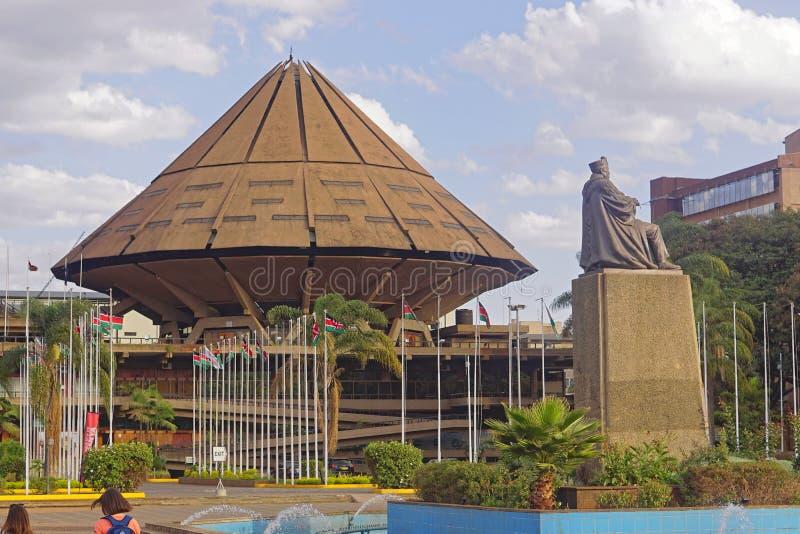 Centro de convenio internacional Kenia fotografía de archivo libre de regalías