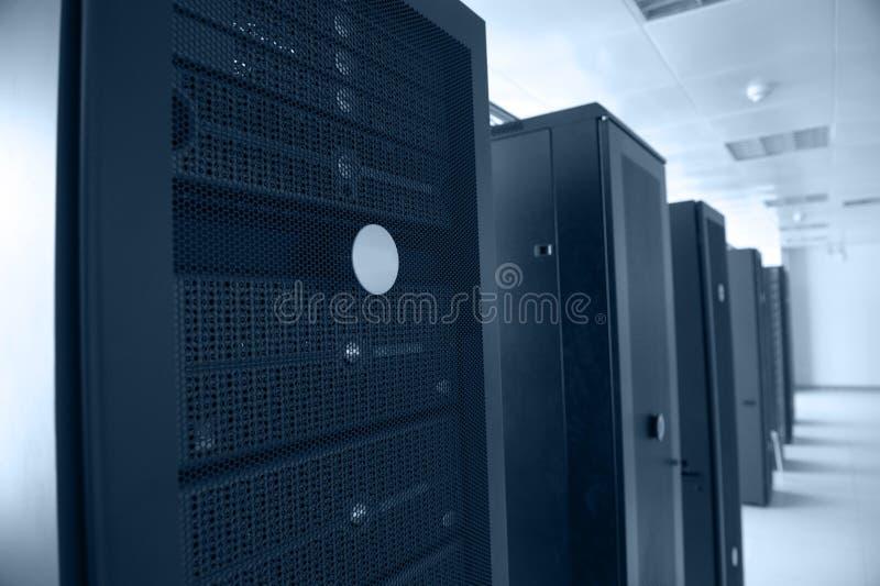 Centro de dados do Internet fotografia de stock