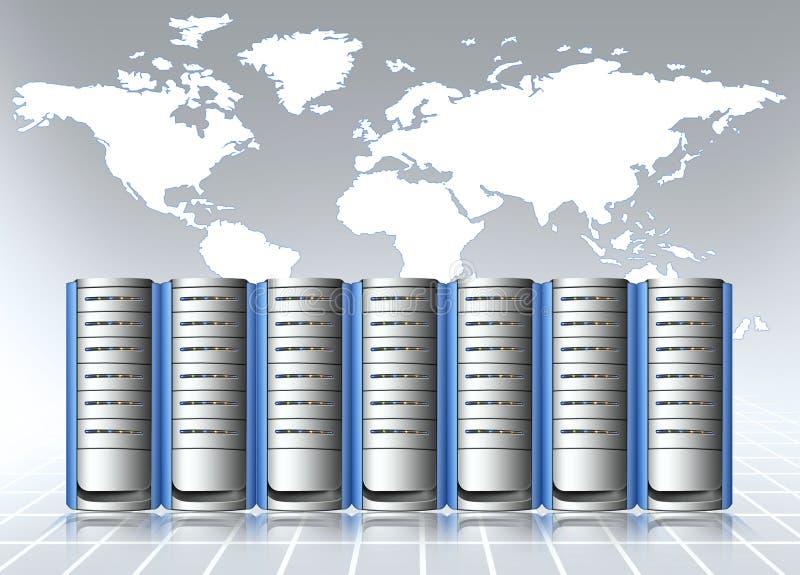 Centro de datos libre illustration