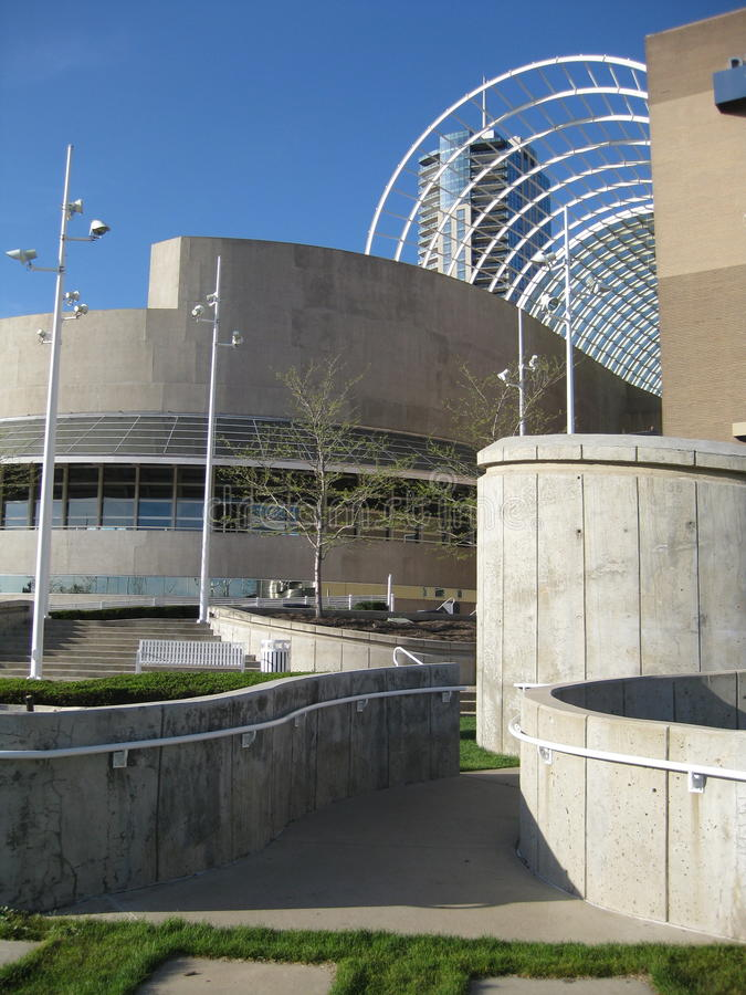 Centro de Denver de artes interpretativas imagen de archivo