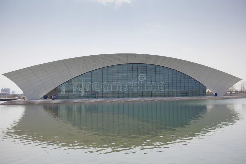 Centro de deportes oriental de Shangai imagenes de archivo