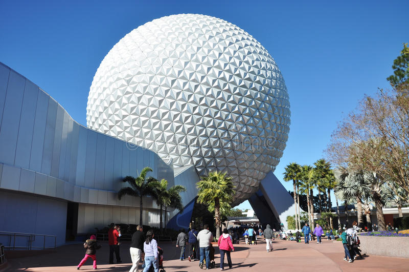 Centro de Disney Epcot imagens de stock royalty free