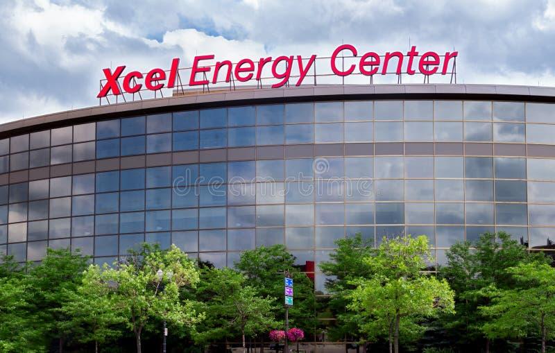 Centro de energia de Xcel imagem de stock