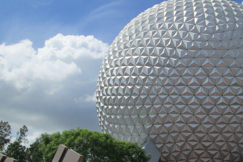 Centro de Epcot em Orlando, Florida imagem de stock royalty free
