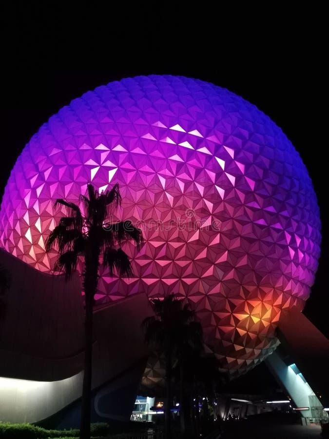 Centro de Epcot, Orlando, la Florida fotografía de archivo
