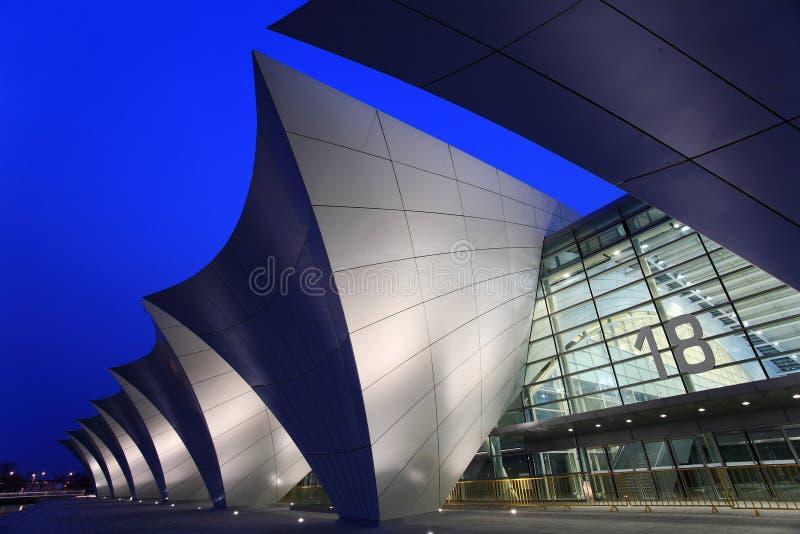 centro de esportes oriental de shanghai foto de stock