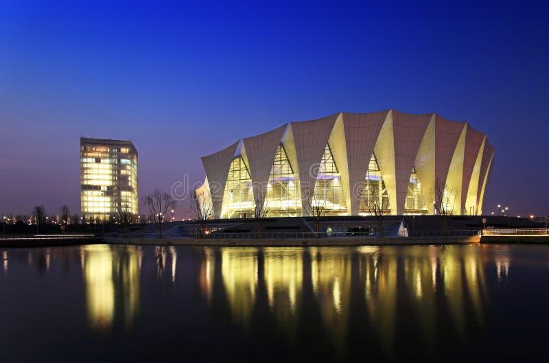 centro de esportes oriental de shanghai imagem de stock