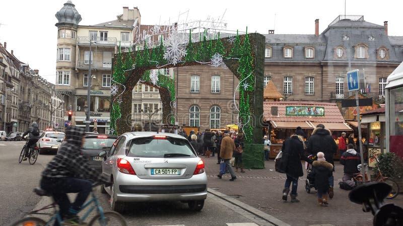 centro de Estrasburgo foto de archivo