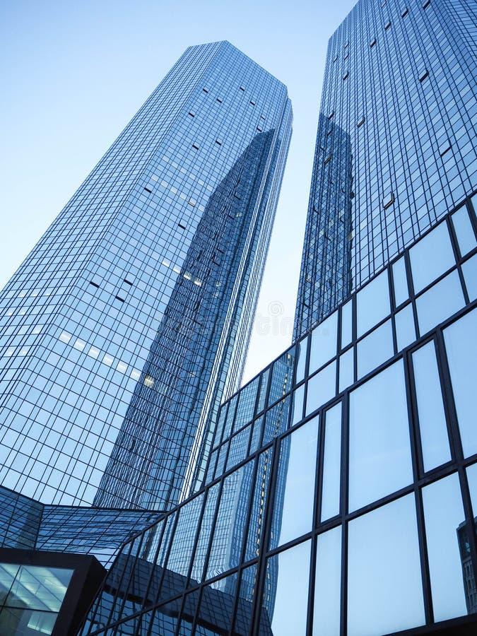Centro de Francoforte, Alemanha foto de stock royalty free