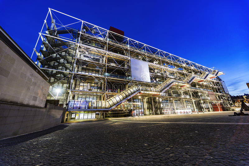 Centro de Georges Pompidou fotografía de archivo