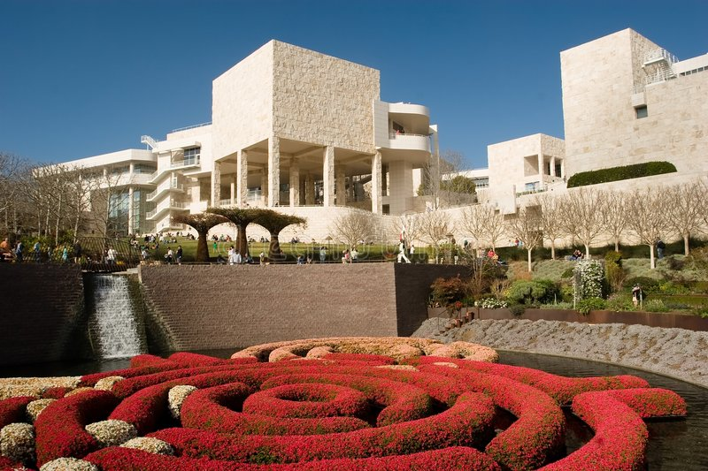 Centro de Getty foto de stock