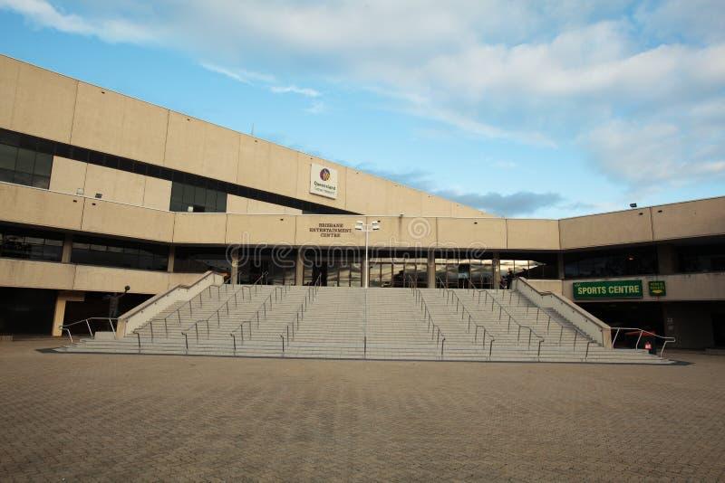 Centro de hospitalidad de Brisbane foto de archivo