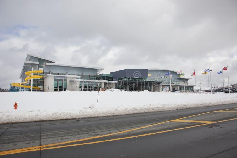 Centro de juegos de Canadá en Halifax imágenes de archivo libres de regalías