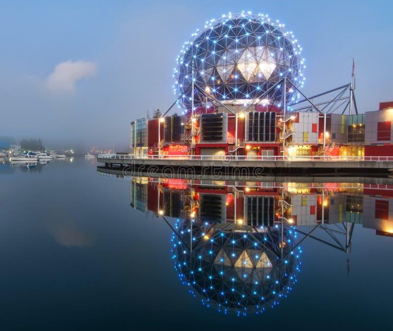 Centro de la ciencia de Vancouver fotos de archivo