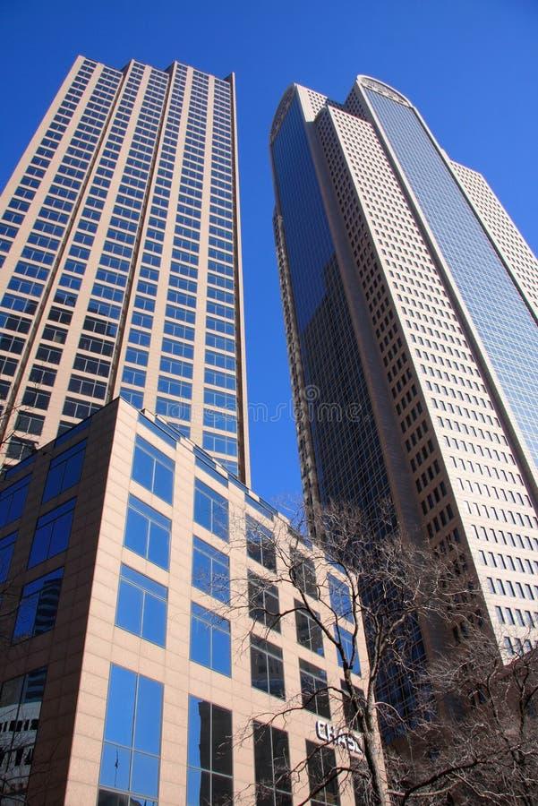 Centro de la ciudad de Dallas Tejas foto de archivo libre de regalías