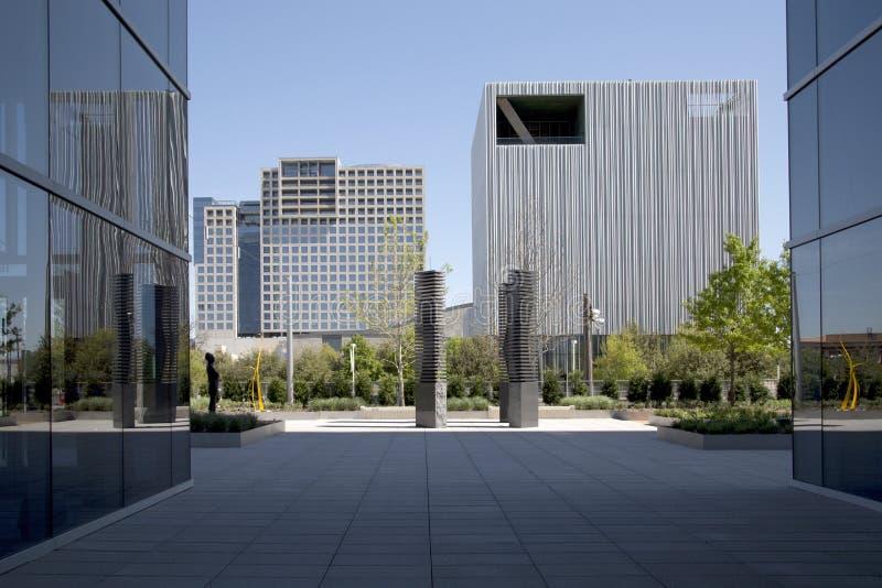 Centro de la ciudad hermoso de la ciudad Dallas fotografía de archivo
