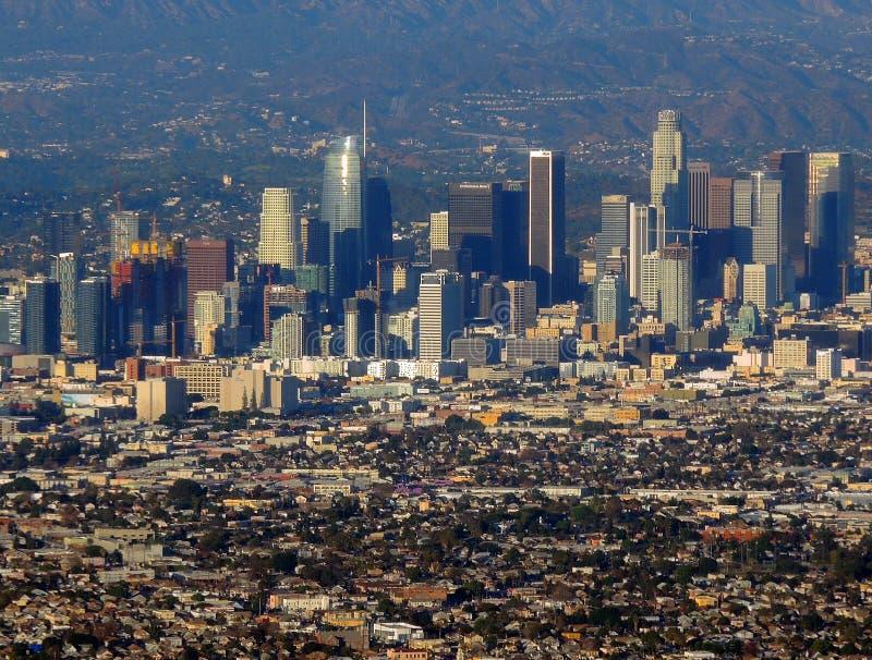 Centro de la ciudad de Los Ángeles 2 imagen de archivo