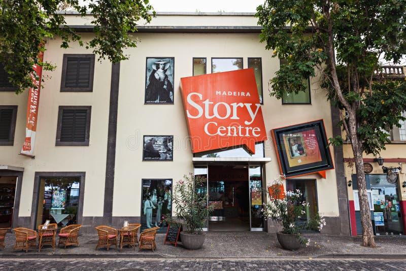 Centro de la historia de Madeira fotografía de archivo libre de regalías