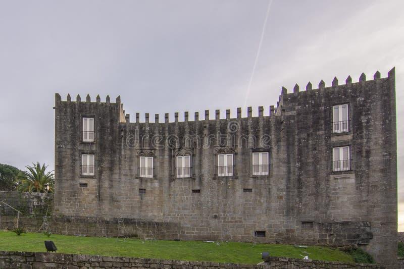 Centro de la interpretación de la historia militar en la ciudad de Ponte d foto de archivo libre de regalías