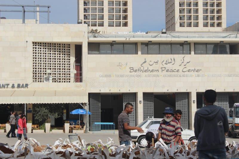 Centro de la paz de Belén imagen de archivo