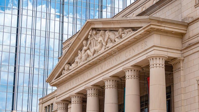 Centro de la sinfonía de Schermerhorn en Nashville foto de archivo libre de regalías