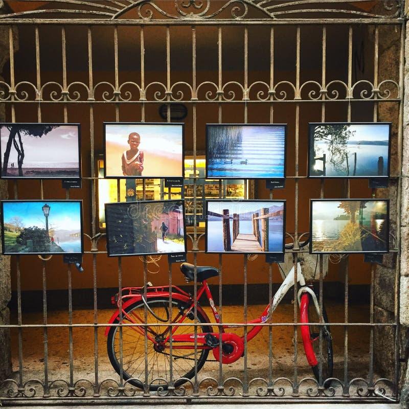 Centro de Lodi Itália imagem de stock