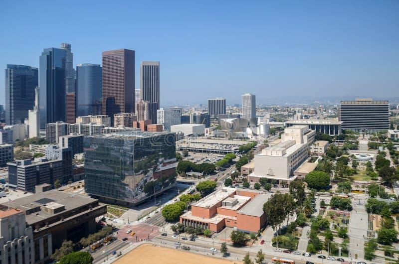 Centro de Los Ángeles imagen de archivo libre de regalías