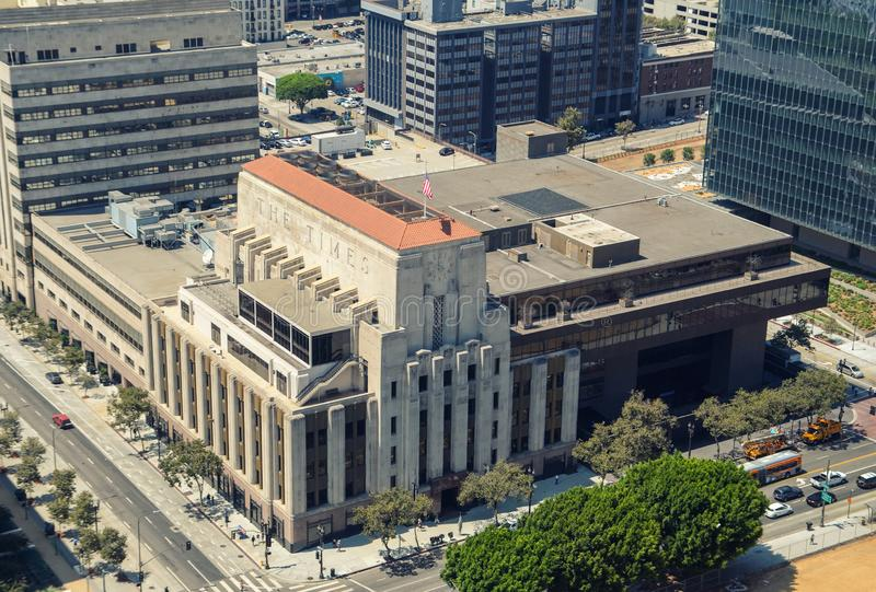 Centro de Los Ángeles fotografía de archivo
