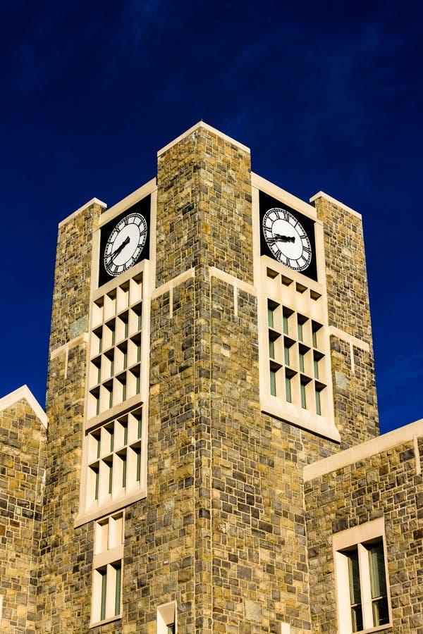 Centro de los alumnos de Holtzman en Virginia Tech imagenes de archivo